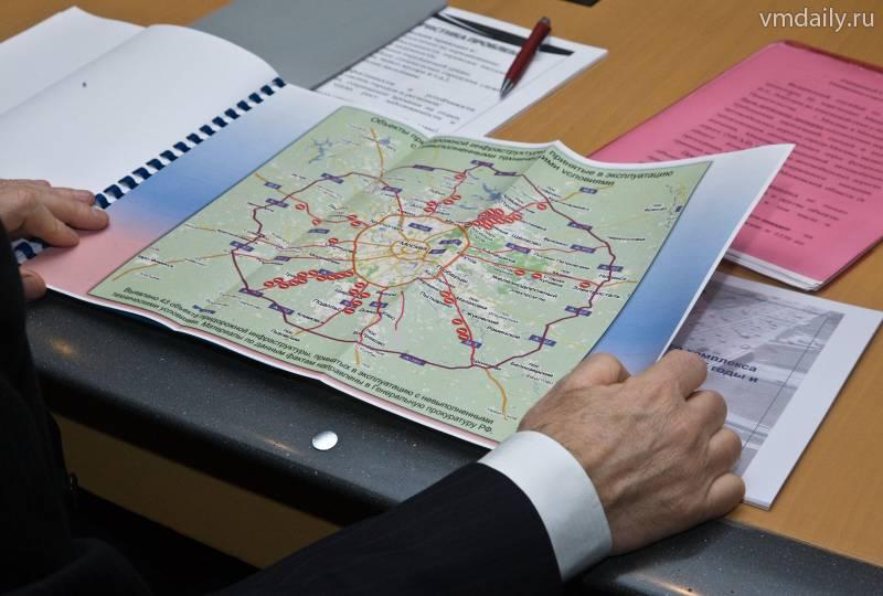 Через 12 лет границы Москвы выйдут за пределы области