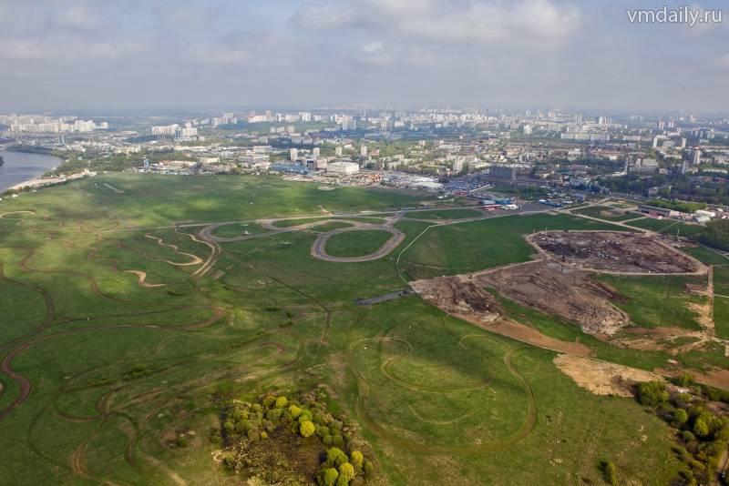 Москва объявила конкурс на лучшие аэрофотографии присоединенных территорий