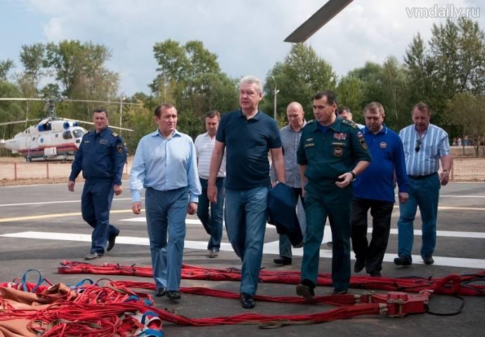 Сергей Собянин проинспектировал ход модернизации противопожарной инфраструктуры в новой Москве