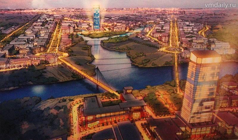 Новая Москва будет состоять из трех поясов урбанизации