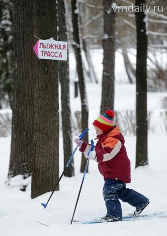 Любители лыжного спорта будут кататься в Вороновском
