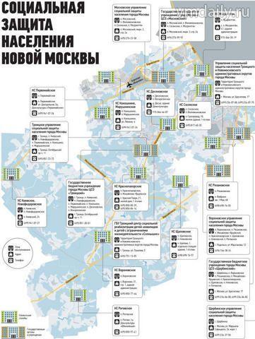 Соц защита поселок московский