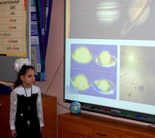 Школьники померялись знаниями о космосе и спутниках