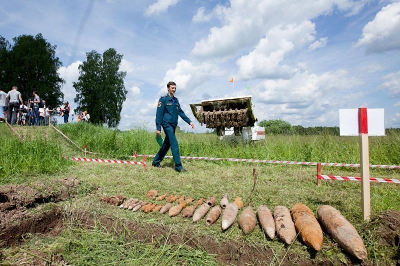 Спасатели продемонстрируют поиск и обезвреживание взрывоопасных предметов