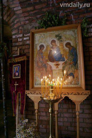 Наукоград отметил именины литургией