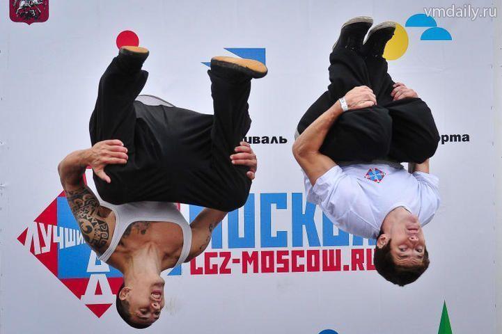 Праздник спорта: прыгают все!