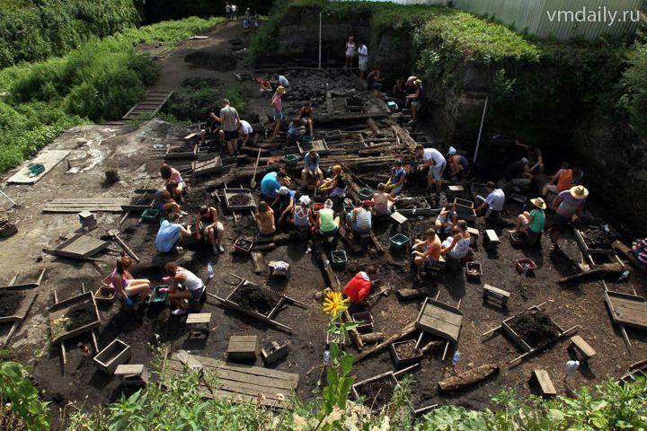 Памятники археологии под охраной