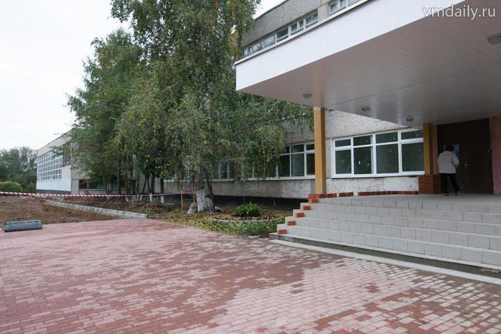Единственную школу ремонтируют впервые за 37 лет