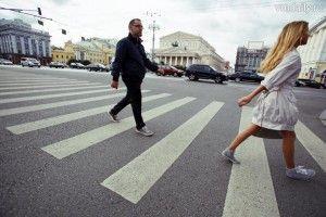 26 сентября сотрудники ДПС по Троицкому и Новомосковскому округам вместе с членами Дома детских общественных организаций провели общегородскую акцию «Московская Зебра».