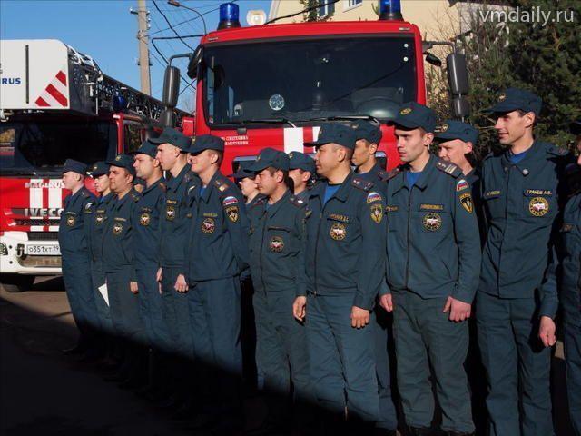 Сухих вам рукавов! Пожарная часть из Щербинки отметила двадцатилетний юбилей