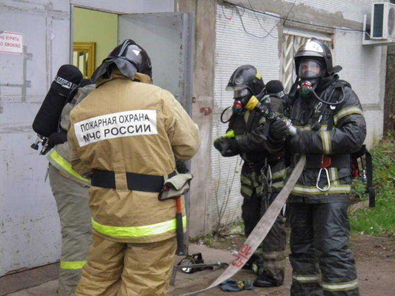 Пожар на Камвольной фабрике потушили