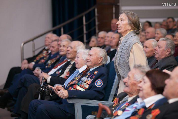 В поселении Московский прошел концерт для ветеранов
