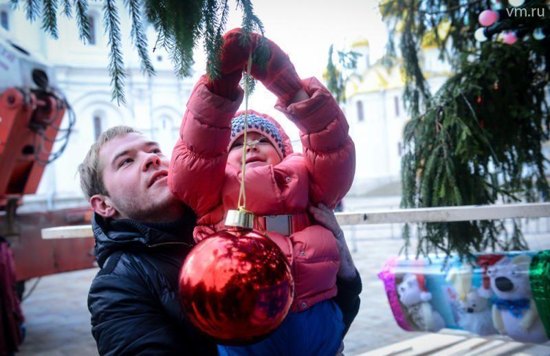 К Новому году Москва станет большой открыткой