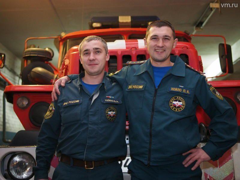 Профессия пожарного: от отца к сыну