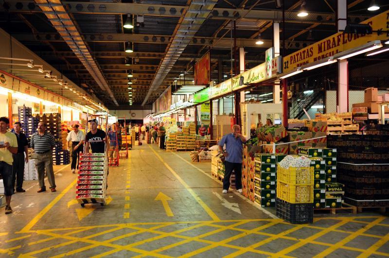 Не сельский базар, но мегарынок