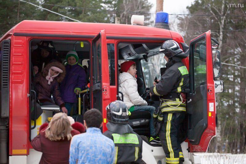 При детском доме будет добровольный пожарный отряд