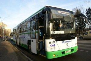 Автобусы уже вышлина маршруты