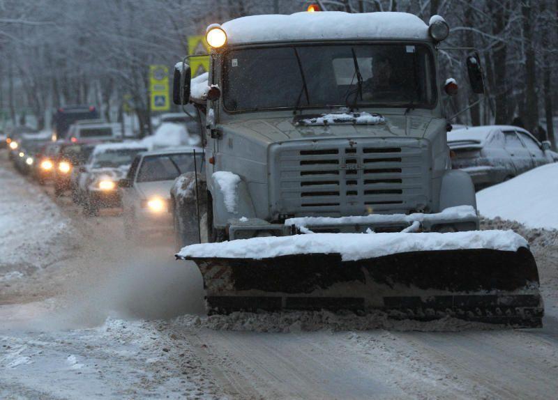 Первые снегопады выдали месячную норму
