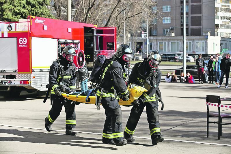 Профессия для героев: пожарные отметили юбилей