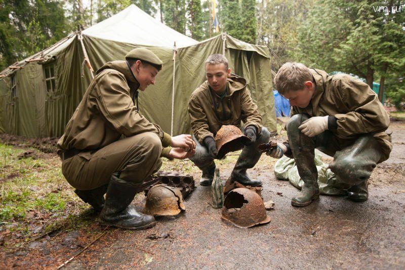 В поселении Роговское открыли «Вахту памяти»
