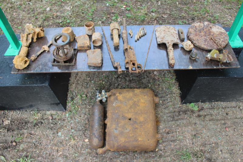 Роговская земля: на 122 снаряда меньше