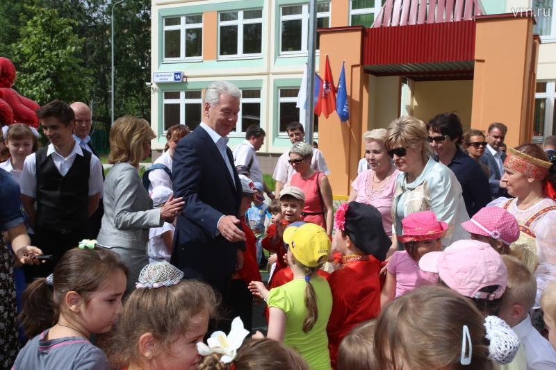 Дети показали мэру новый садик