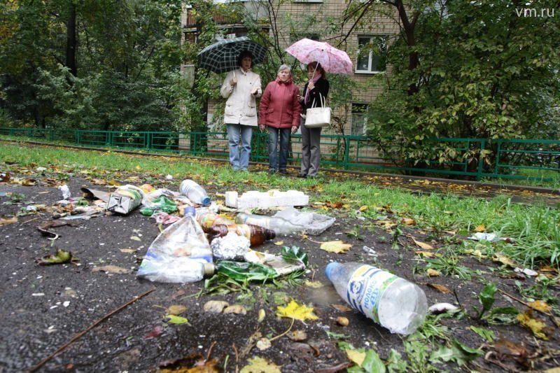 Чисто мусорная война