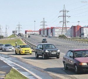 Автодорога Саларьево-Мамыри пропускает три тысячи машин в час