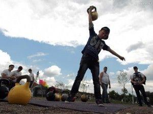 30 человек приняли участие в соревнованиях погиревому спорту.