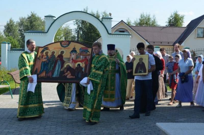 Округа отметили семисотлетие преподобного Сергия Радонежского