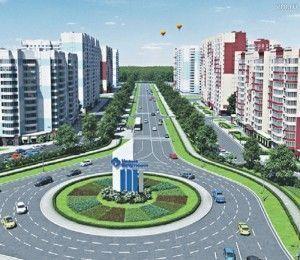 Планировка и виды микрорайона Центральный в Новых Ватутинках (проекты): просторно, современно, удобно