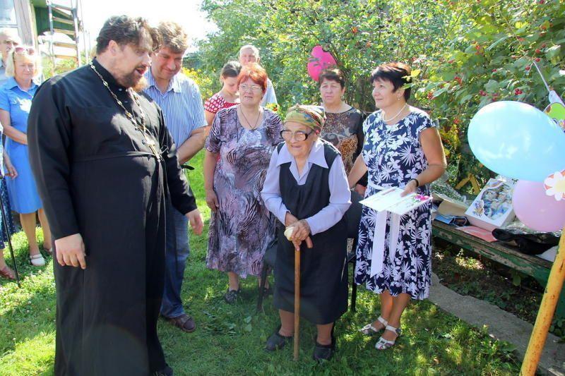 Евдокия Голышева отпраздновала столетие