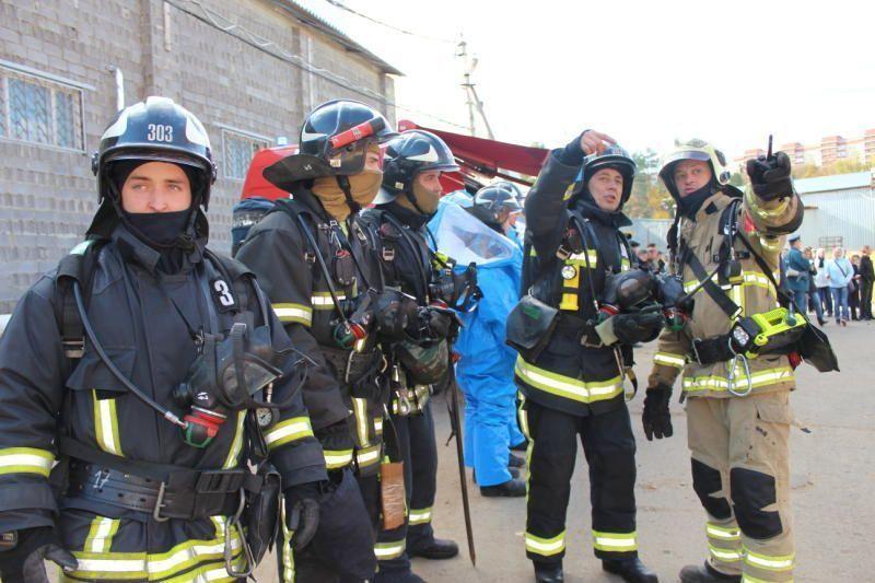 В поселении Филимонковское прошли учения пожарных