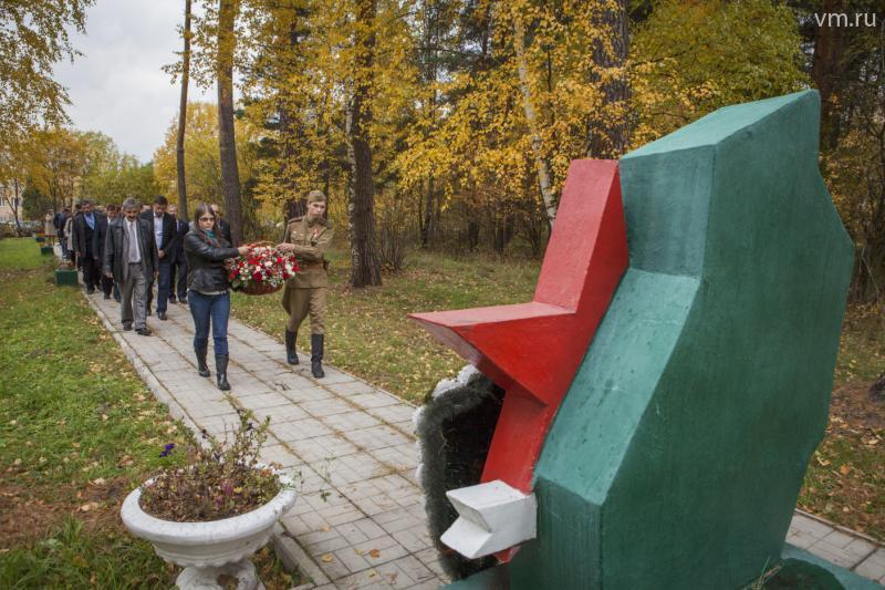 Памятник Воину-освободителю в Щербинке переместят в сквер Памяти