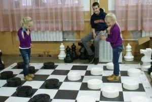 Игродень: в большие шашки играть интереснее!