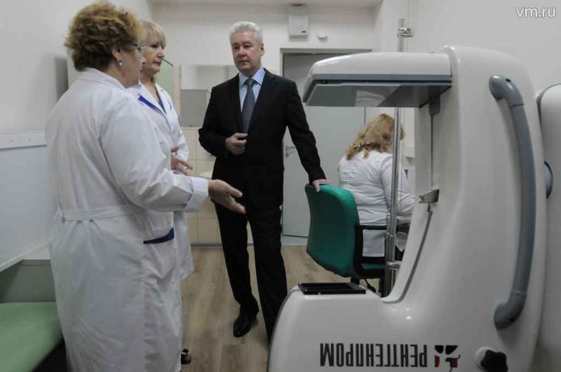Сергей Собянин: Построим 30 поликлиник за четыре года
