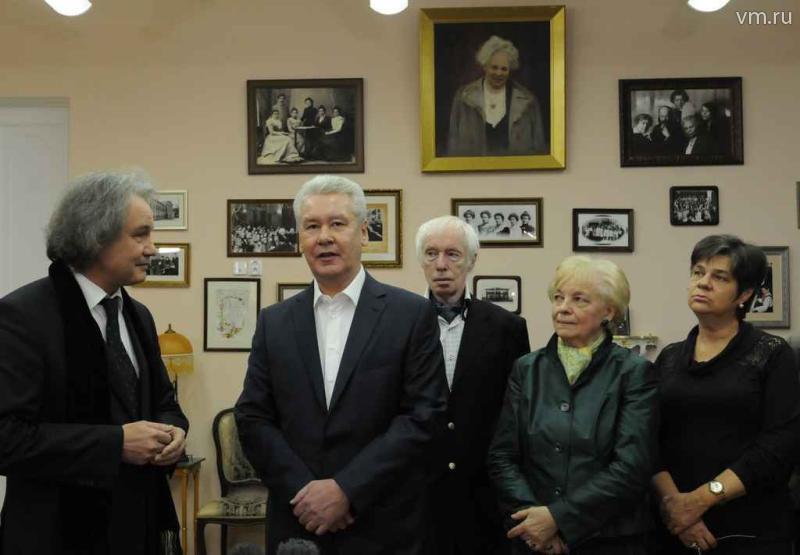 Сергей Собянин рассказал о скором завершении реставрации музыкальной школы им. Гнесиных