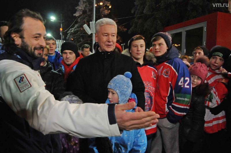 Сергей Собянин: На ВДНХ открыт самый большой искусственный каток в мире