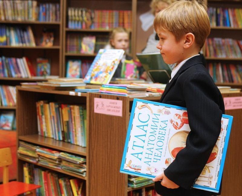 Библионяня присмотрит за ребенком