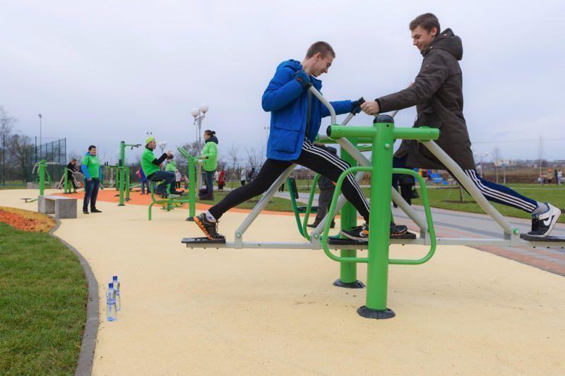 В поселении Вороновское прошли состязания по спортивной ходьбе