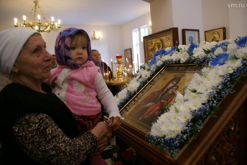 Марьинский храм отметил первый престольный праздник