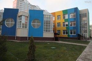 Здесь же открылся новый детский сад с бассейном