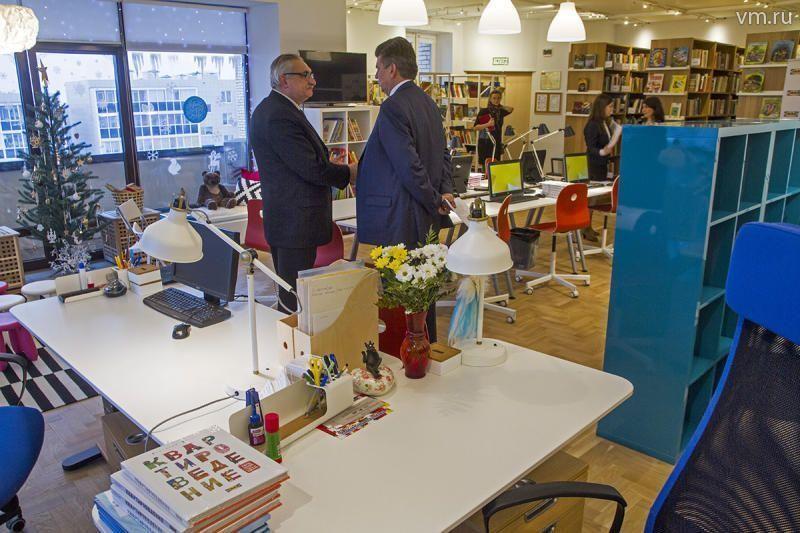 Марьинская библиотека открылась после реконструкции
