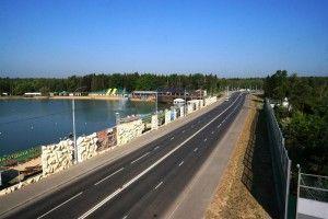 Открытие движения по реконструированной дороге Киевское шоссе — Боровское шоссе (Московский — Рассказовка)