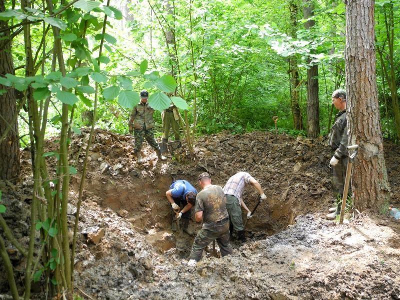 В лагере «Горки» прошел слет юных поисковиков