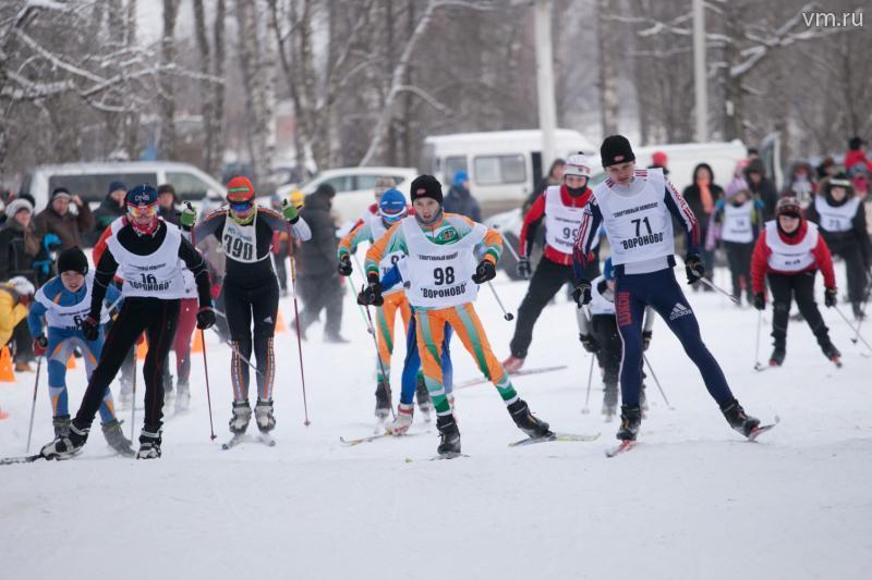 Победителем «Вороновской лыжни» стал 77-летний пенсионер