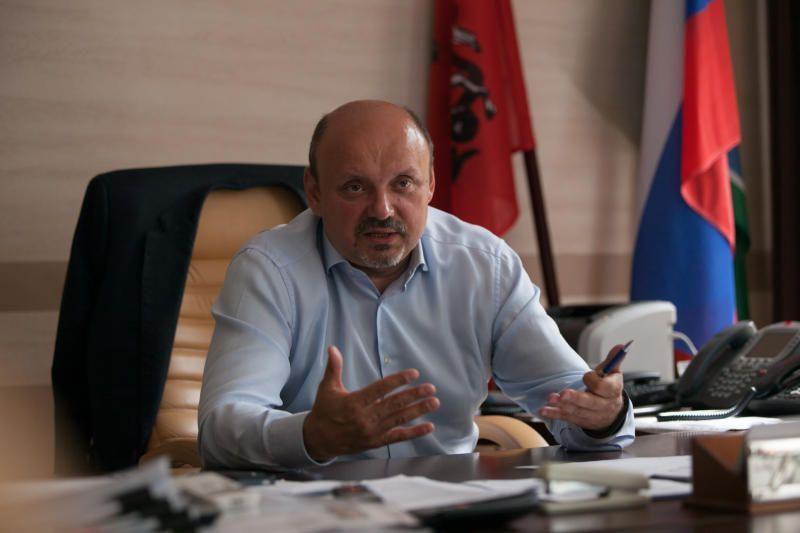 Глава Троицка Владимир Дудочкин