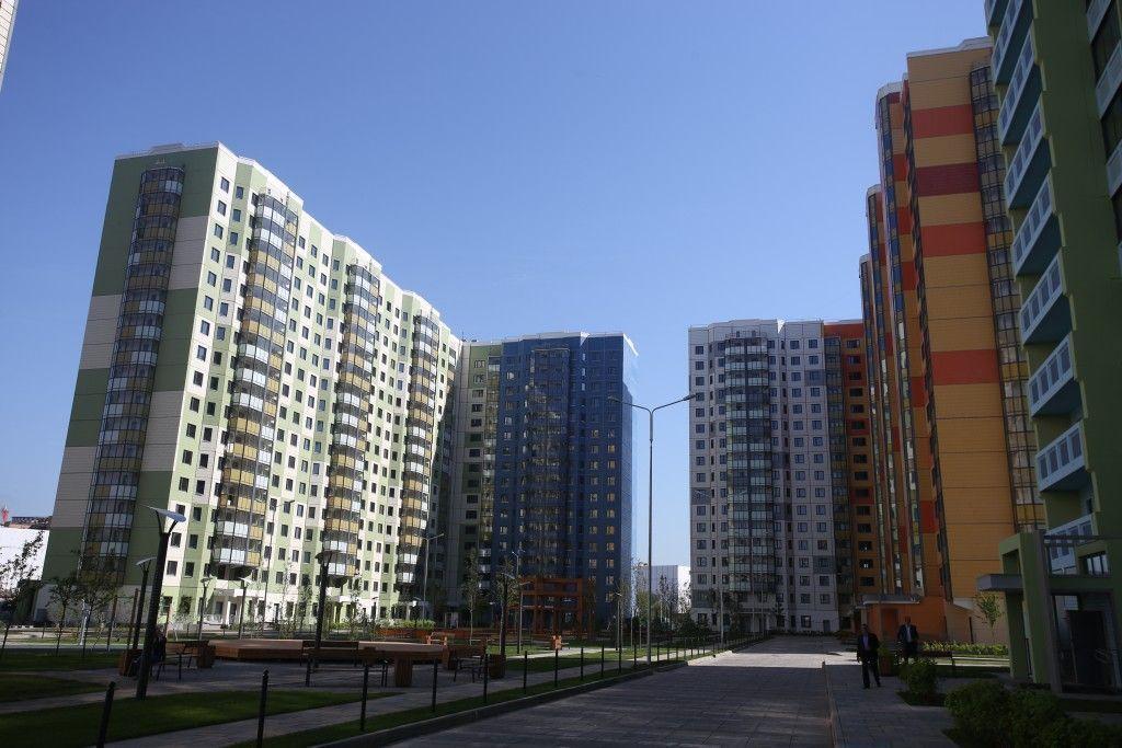 Спрос на первичное жилье в Новой Москве вырос в апреле на три процента