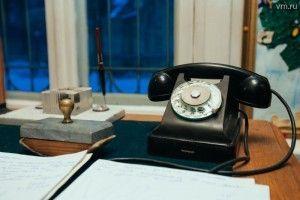 По этому телефону из Дома творчества звонили известнейшие писатели