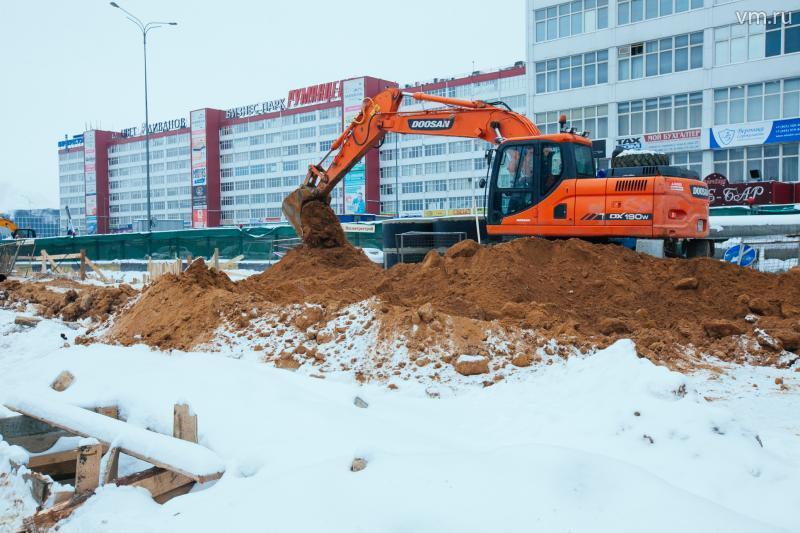 Количество нарушений содержания стройплощадок по Новой Москве - 16%